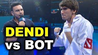 DENDI 1v1 vs BOT AI - TI7 DOTA 2