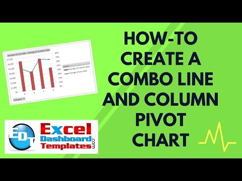How-to Create a Combo Line and Column Pivot Chart