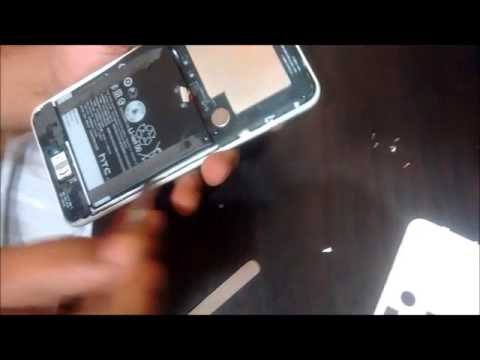 How to Remove HTC D816 Display / Battery / Motherboard