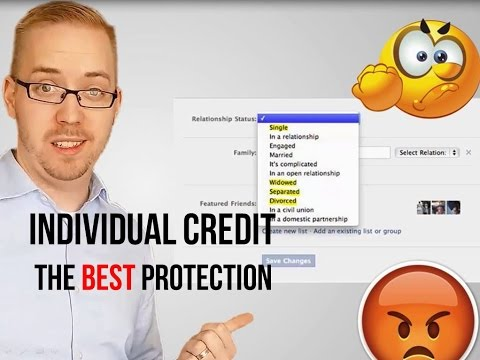 Individual Credit is the best protection