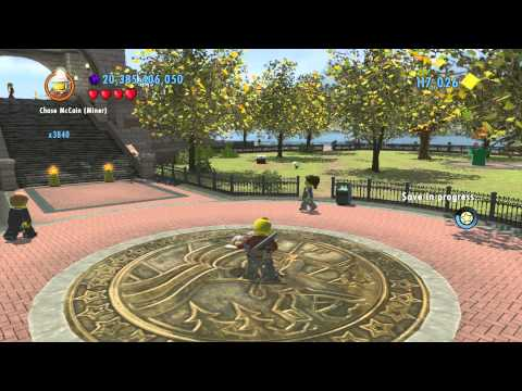 LEGO City Undercover (Wii U) ~ Collectables Guide - Lady Liberty Island (Part 1/2)