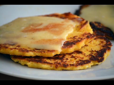 Sweet Corn Arepas Recipe | How To Make Chocolo Arepas | SyS