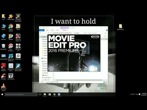 Video Edit software Magix Movie Edit Pro (Installation and Crack)