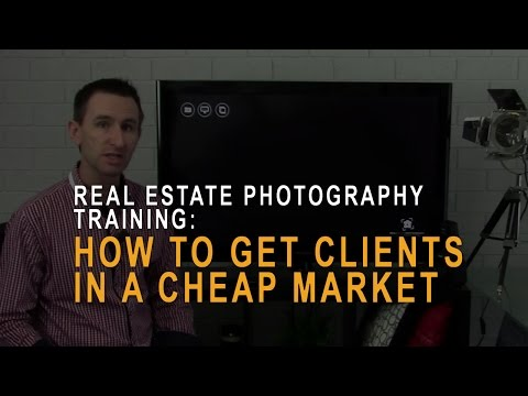 Photography: How to get clients in a cheap market