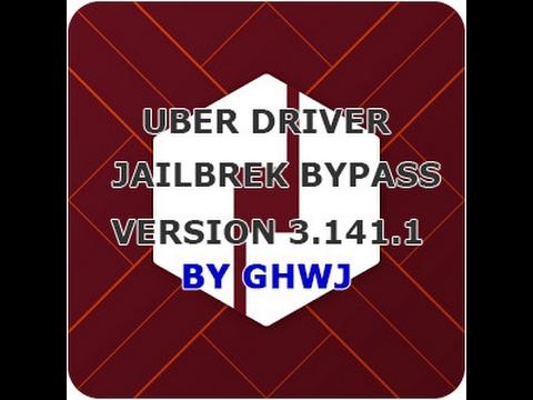 Uber Driver / Partner - Jailbreak Detection Bypass / Hack - Version 3.141.1 - Feb/2017 - iOS 10.2
