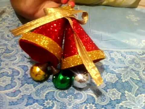 How  to make Christmas bell == new == 2017