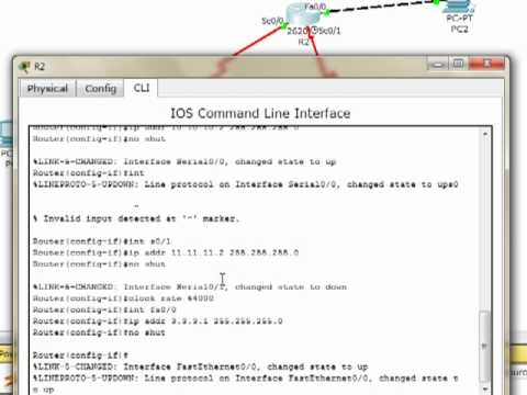 How to configure EIGRP in Packet Tracer.