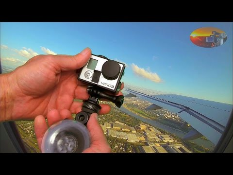 GoPro - How to get best Videos out of a Plane Window - HvdH-GoPro-Tutorial