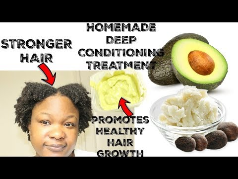 Can this Avocado and Shea Butter Deep Conditioner Stimulate Hair Growth?  DIY Deep Conditioner