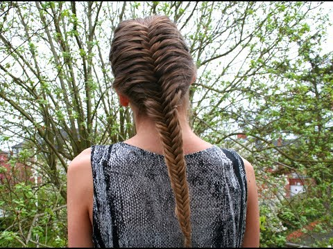French fishtail braid tutorial - HairAndNailsInspiration