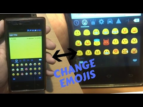 how to change emojis on android (ROOT)