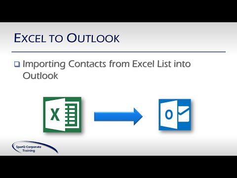 Office Integration -  Part 1b of 10 Parts -  Excel to Outlook