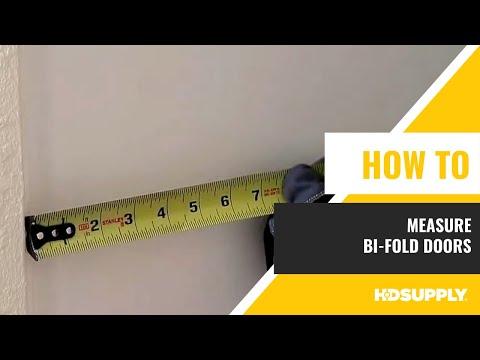 How To Measure Bi-fold Doors - HD Supply FM
