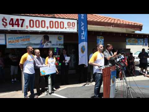 Owners of Menifee store where $447 million lotto ticket sold get $1 million of their own