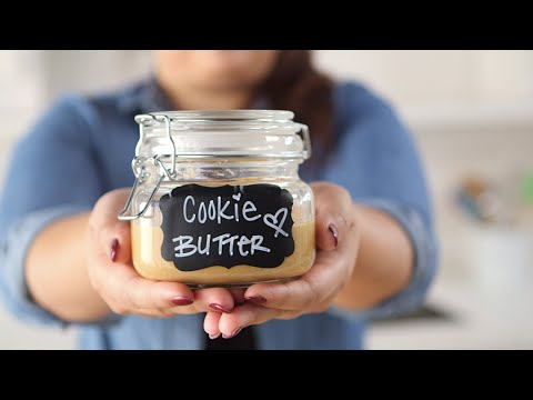 Homemade Cookie Butter is Dangerously Easy to Make
