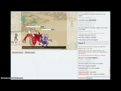 DylanGamesUK Plays:Pokemon Showdown Episode 1