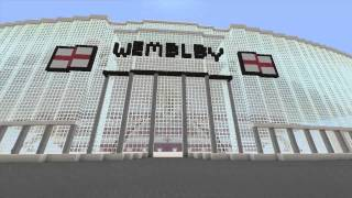 Minecraft megabuild wembley england national stadium my minecraft wembley 3 years ago sciox Gallery