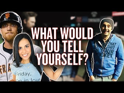 What Advice Would You Give Your Younger Self? | #AskGaryVee with Alexis and Hunter Pence
