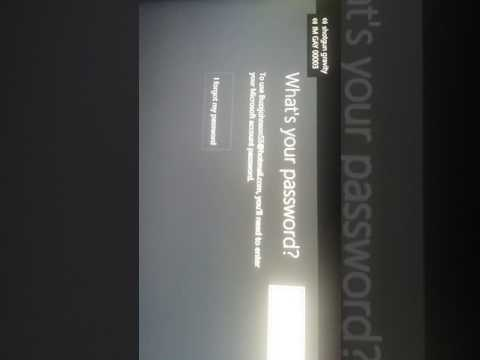 How to to get  in your account with out your password o Xbox one