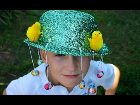 How to Make a jazzy Easter hat