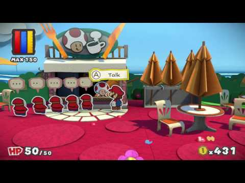 Paper Mario Color Splash - Part 4