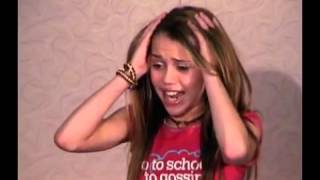 Miley Cyrus's Audition tape for Hannah Montana