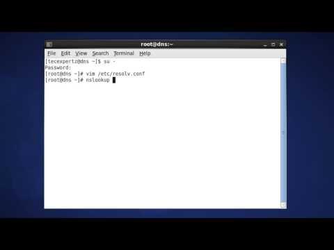 Test DNS (BIND) on CentOS