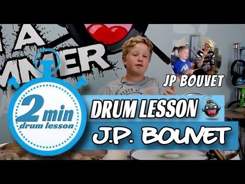 Beginner Drum Lesson JP Bouvet Groove Drum Beats