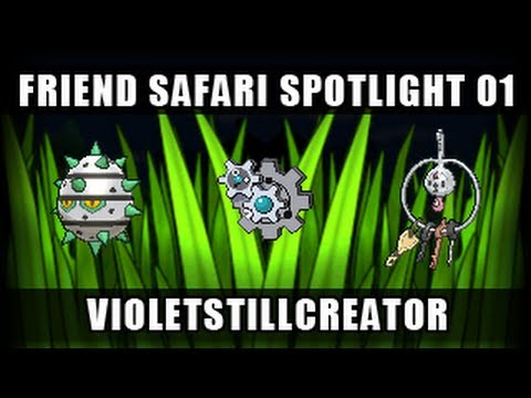 Pokemon X and Y Friend Safari Exchange/Spotlight 01 - VioletStillCreator (Steel)