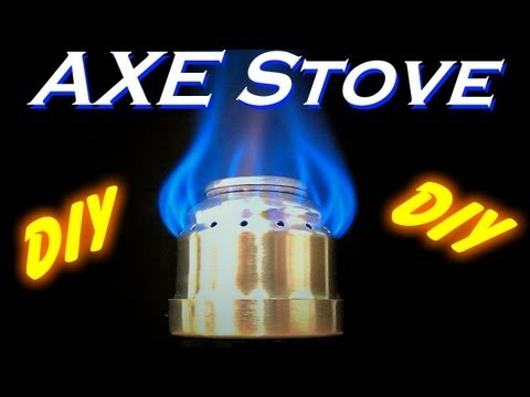 DIY - How To Make An AXE Can Alcohol Stove