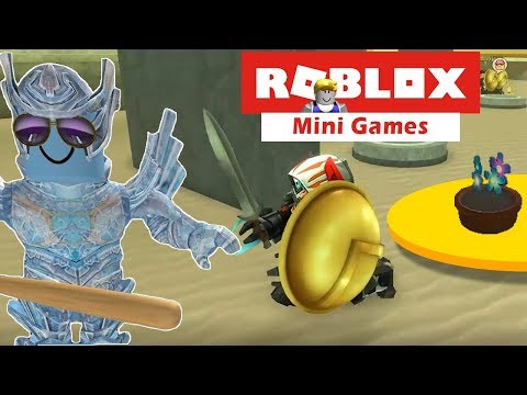 Twin Toys Plays Best Roblox Mini Games Ever!  The Ice Ninja Unleashed