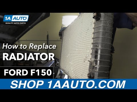 How to Replace Install Radiator 1998 Ford F150 Buy Quality Auto Parts at 1AAuto.com