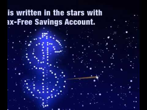 ING Direct Canada - Tax-Free Savings Account Banner: Starry Night Execution