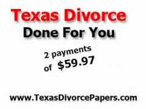Filing for Divorce in Texas