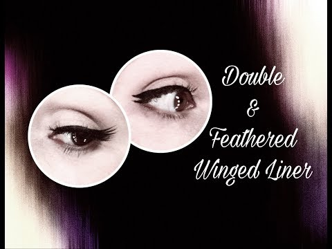 Double and Feathered Winged Liner Tutorial