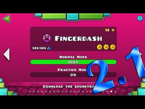 Geometry Dash 2.1/Level 21 - Fingerdash