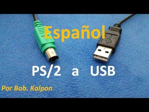 Como convertir un raton PS2 a USB ? mouse PS/2 a USB por Bob. Kalpon