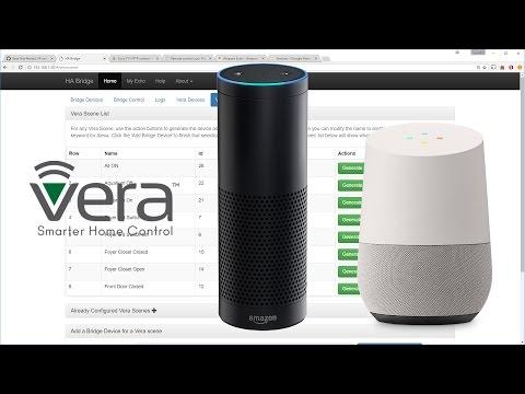 Using ha-bridge to enable voice control via Google Home, Amazon Alexa