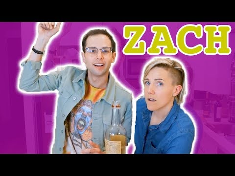 My Drunk Kitchen: Pizza Cake ft. The Try Guys! (Part Two... Zach!)
