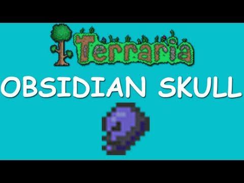 Terraria - Obsidian Skull