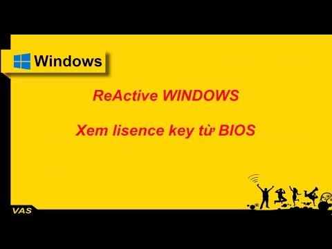 [Windows] - ReActive Windows bản quyền | Kích hoạt lại Windows bản quyền