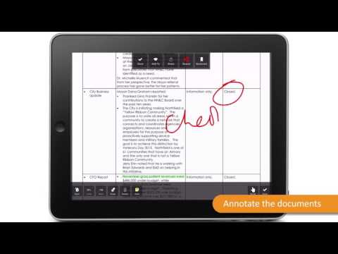 MeetingSquared App - Meetings and Agenda demo