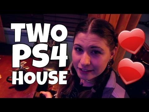 2 PS4 ONE HOUSE (Happy Birthday Amanda) VLOG #159