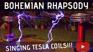 Download Bohemian Rhapsody by Queen Meets Singing Tesla Coils Video