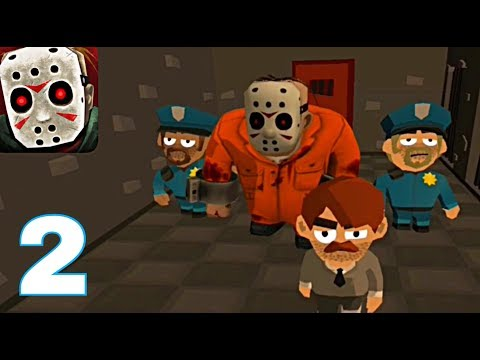 Friday the 13th Killer Puzzle - Gameplay walkthrough Part 2 - LockDown Completed (ios & Android )