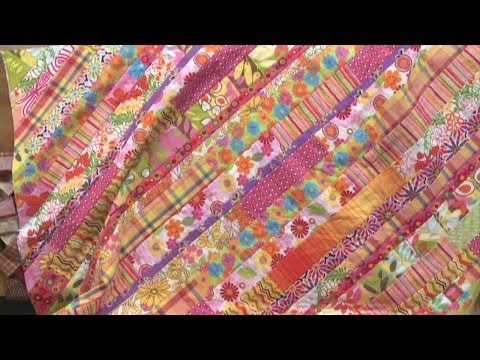 Quilt as You Go -- Strip Quilt     National Quilters Circle