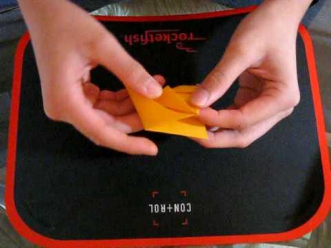 Baby Dragon Origami Tutorial