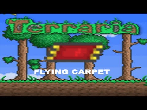 [Terraria] Magic Carpet Preview! (How to get/how to use)