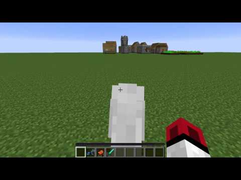 How to Tame & Ride a Horse in Minecraft (Minecraft 1.7.4) (2014)