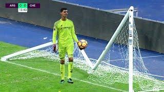 Crazy Power Shots Crossbar & Goal Post Hits